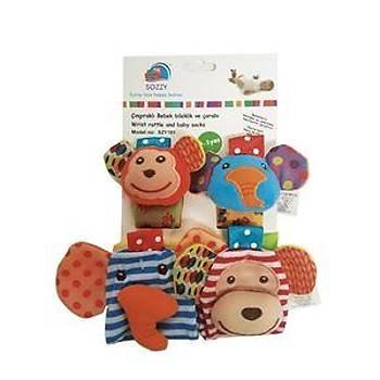 Sozzy Toys Çýngýraklý Çorap ve Bileklik Seti - SZY118