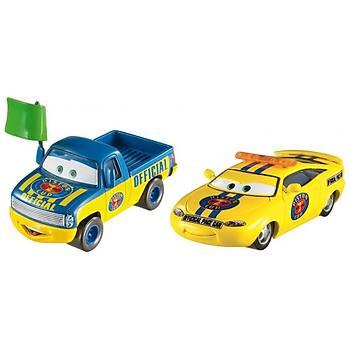 Cars 3 Dexter Hoover ve Charlie Checker Karakter 2'li Araç Seti