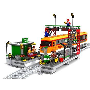 Ausini 928 Parça Tren Set 25110