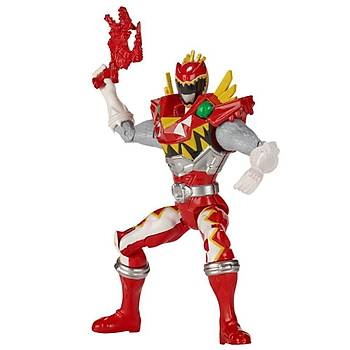 Power Rangers Dino Super Charge Red Ranger Aksiyon Figürü 12 cm