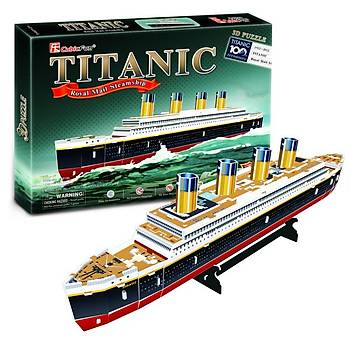Cubic Fun 3 Boyutlu Puzzle Titanic Gemi