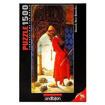 Anatolian 1500 Parça Puzzle Kaplumbaða Terbiyecisi