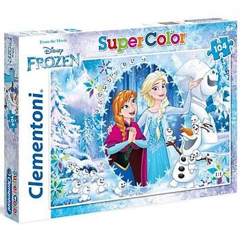 Clementoni Disney Frozen 104 Parça Çocuk Puzzle