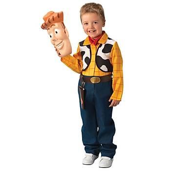 Rubies Toy Story Woody Kostüm Lüks 3-4 Yaþ