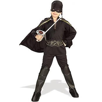 Zorro Klasik Çocuk Kostümü 4-6 Yaþ