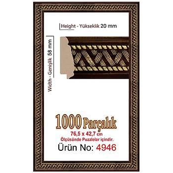 Heidi 1000 Parçalýk Panorama Puzzle Çerçevesi 76,5 X 42,7 Cm 4946