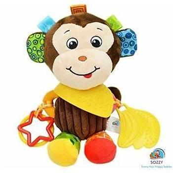 Sozzy Toys Maymun Arkadaþým Aktivite Oyuncaðý - SZY130