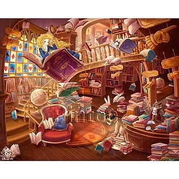 Pintoo 500 Parça Puzzle Alice Harikalar Diyarinda Gizemli