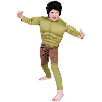 Hulk Çocuk Kostüm Premium 6-8 Yaþ