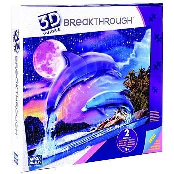 Mega Puzzles 250 Parça 3D Puzzle Breakthrough Yunuslar