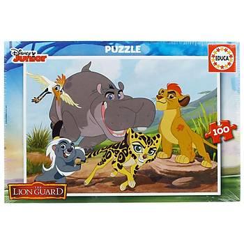 Educa Çocuk Puzzle Karton 100 The Lion Guard 17169