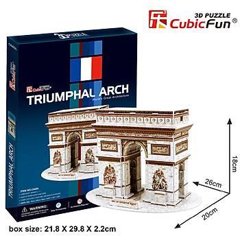 Cubic Fun 3D 26 Parça Puzzle Triumphal Arch