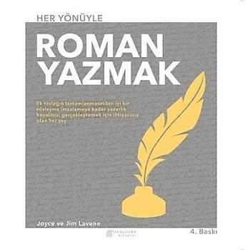 Her Yönüyle Roman Yazmak Joyce-Jim Lavene Akýlçelen Kitaplar