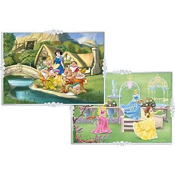 KS Puzzle 2 Ýn 1 Çocuk Puzzle Disney Princess