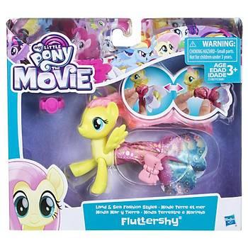My Little Pony Deðiþebilen Deniz Pony'leri Fluttershy