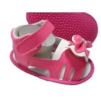 Fulya Patik -  Pembe Renkli Kurdelalı Kız Sandalet