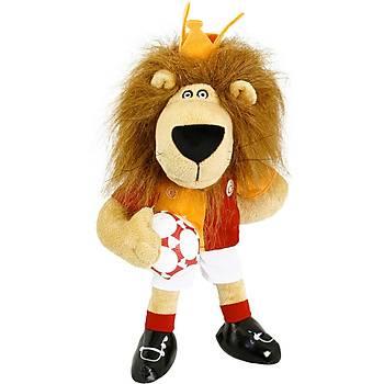 Galatasaray Lisanslý Aslan Kral Figür Peluþ Oyuncak 36 cm
