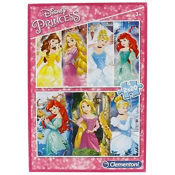 Clementoni Disney Prenses 2x20 Parça Çocuk Puzzle