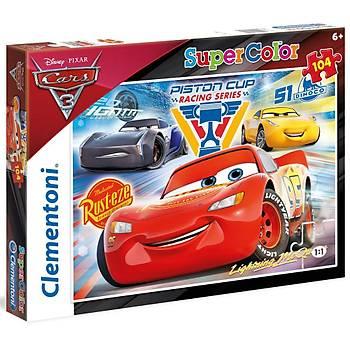 Clementoni Disney Cars 3 Piston Cup 104 Parca Çocuk Puzzle