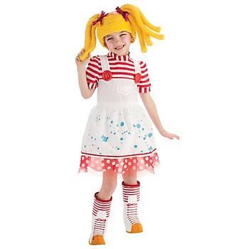 Lalaloopsy Çocuk Kostüm 5-7 Yaþ