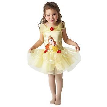Prenses Belle Balerin Çocuk Kostüm 12-24 Ay