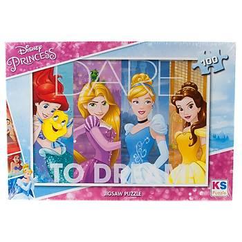 KS Puzzle Puzzle Prenses Çocuk Puzzle 100 Parça