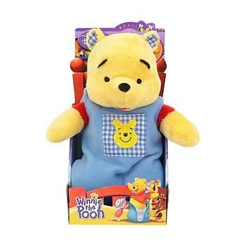 Pooh Bebek Tulumlu Peluþ Oyuncak 26 cm