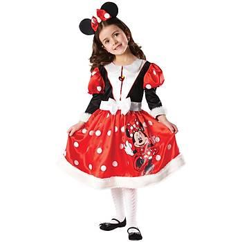 Minnie Mouse Çocuk Kostüm 7-8 Yaþ Wonderland