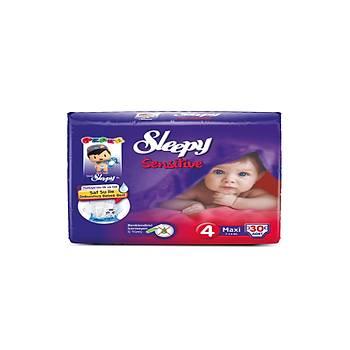 Sleepy Sensitive Pepee Maxi 4 Numara 30 Adet