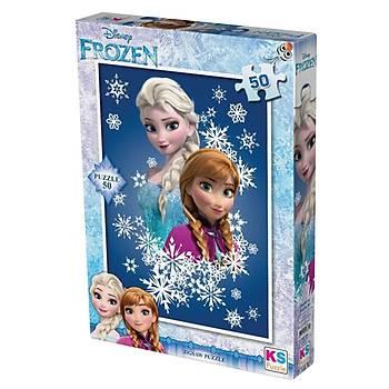 KS Puzzle 50 Parça Çocuk Puzzle Disney Frozen