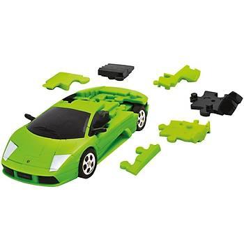 Eureka 3D Araba Puzzle Lamborghini Murcielago Yeþil