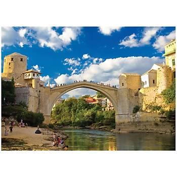 KS Puzzle Old Mostar Bridge Bosna Hersek 500 Parça