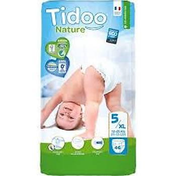 Tidoo Antialerjik-Ekolojik Bebek Bezi No:5 Jumbo Junior 12-25 Kg 46 Adet