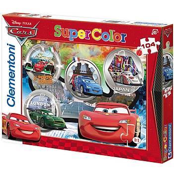 Clementoni 104 Parça Çocuk Puzzle Disney Cars