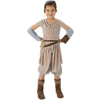Star Wars Episode 7 Rey Kostüm Lüks  5-6 Yaþ