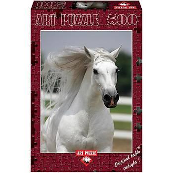 Art Puzzle 500 Parça Puzzle Beyaz