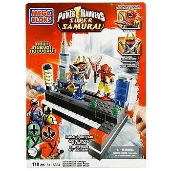 Mega Bloks Power Rangers Mýný Megazord Battle Oyun Seti
