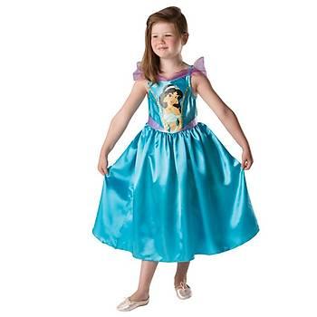 Prenses Jasmine Klasik Çocuk Kostüm 5-6 Yaþ