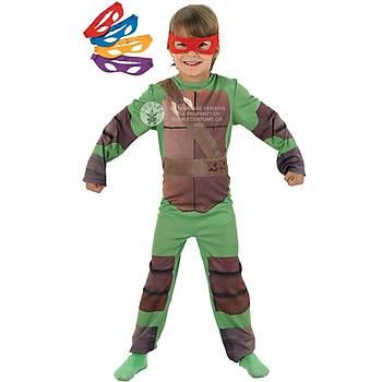 Ninja Kaplumbaðalar Çocuk Kostümü 5-6 Yaþ