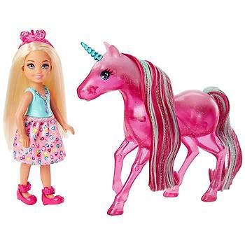 Barbie Dreamtopia Chelsea ve Tek Boynuzlu Atý