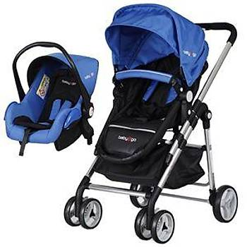 Baby 2 Go 6035 Fidello Travel Puset - Mavi