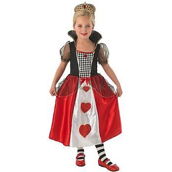 Kraliçe Kýz Çocuk Kostümü Lüks 7-8 Yaþ