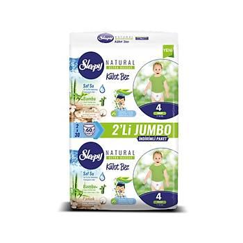 Sleepy Natural 120 Adet 4 Numara Külot Bez Maxi