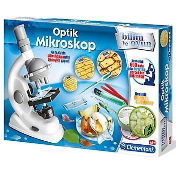 Clementoni Bilim ve Oyun Deney Seti Optik Mikroskop