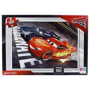 KS Puzzle Cars 3 150 Parça Çocuk Puzzle CR715