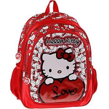 Hello Kitty Okul Sýrt Çantasý 86001