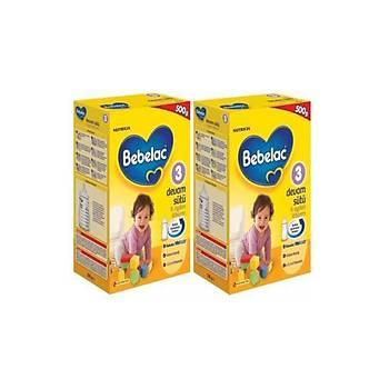 Bebelac Devam Sütü 3 Numara 500 gr 2 Li Paket