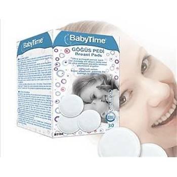 Baby Time Göðüs Pedi (30 Adet)