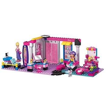 Mega Bloks Barbie Kuaför Salonu Oyun Seti