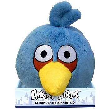 Angry Birds Mavi Kuþ Sesli Peluþ 20 cm